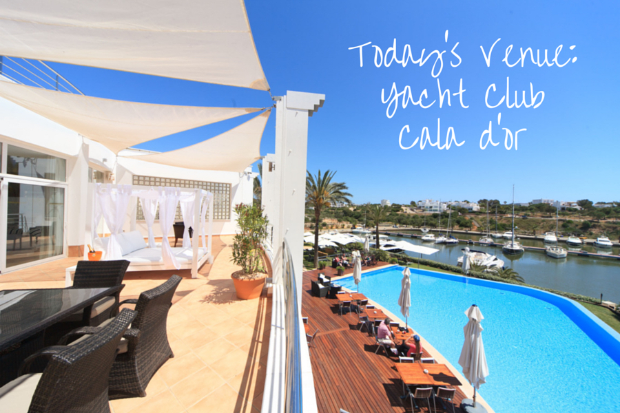Yacht Club Cala dOr Mallorca Wedding Hannah Brides